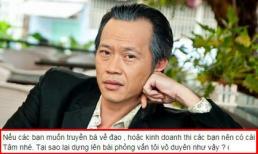 Danh hài Hoài Linh bức xúc khi bị kẻ xấu lợi dụng hình ảnh, bịa đặt lời nói để PR sản phẩm