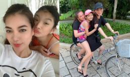 Con gái Trương Ngọc Ánh được khen ngày càng phổng phao, mới 11 tuổi chân đã dài như siêu mẫu