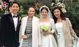 Chương Tử Di - ngôi sao Trung Quốc duy nhất dự đám cưới Song - Song chính là 'Tiên hắc ám' cuộc hôn nhân vàng vì lý do này