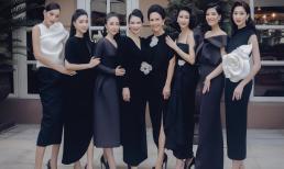 Chỉ một bức ảnh, dàn mỹ nhân nức tiếng Việt Nam hiếm hoi hội tụ khiến ai cũng phải 'lụi tim'