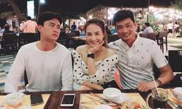 Bảo Thanh cùng chồng thật xuống tận Cần Thơ thăm chồng trên phim