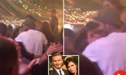 """Vợ chồng David Beckham bị bắt gặp ôm hôn, """"quẩy"""" hết mình trên sàn nhảy"""