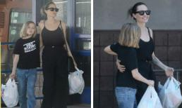 Angelina Jolie sành điệu bên con gái cưng giữa thông tin đau đầu chuyện phân chia tài sản với Brad Pitt