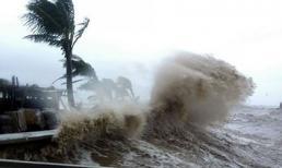 Áp thấp nhiệt đới đang mạnh lên thành bão, hướng di chuyển vào Quảng Ninh, Nam Định