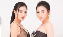 Phương Oanh, Thanh Hương diện váy hở vai khoe vòng một hút mắt