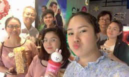 Trung Kiên vui vẻ đi xem phim cùng gia đình vợ, Lê Phương tiết lộ mối quan hệ hiện tại giữa bố mẹ và chồng