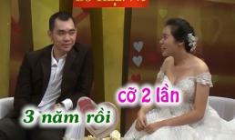 Hồng Vân - Quốc Thuận đứng hình với cặp đôi '3 năm làm chuyện ấy 2 lần'