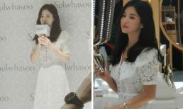 Song Hye Kyo gầy đi trông thấy trong lần đầu xuất hiện sau đổ vỡ hôn nhân với Song Joong Ki