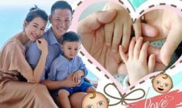 Hồ Hạnh Nhi và ông xã chào đón quý tử thứ 2 ra đời