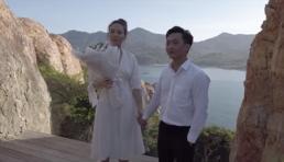 Cận ngày cưới, Cường Đô La 'chơi lớn' tung clip cầu hôn Đàm Thu Trang trên biển