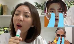 'Hoa hậu làng hài' Thu Trang khiến bao người 'đứng hình' khi cover 'Hãy trao cho anh' phiên bản rap tiếng Việt