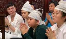 Long Nhật khóc nức nở trong lễ 49 ngày của bạn thân Vương Bảo Tuấn