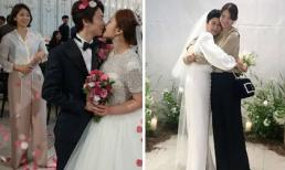 Đi đám cưới nhà người ta: Park Shin Hye và Shin Min Ah lên đồ sao giống nhau đến lạ