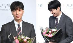 """""""Mỹ nam"""" Lee Min Ho cực lịch lãm trong buổi nhận chức đại sứ"""