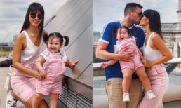 Chẳng phải 'đầu bù tóc rối' khi về quê chồng, siêu mẫu Hà Anh vui vẻ tận hưởng kỳ nghỉ bên gia đình