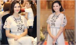 Qua rồi thời hở hang gây sốc, 'gái một con' Hồng Quế mặc giản dị vẫn đầy cuốn hút khi dự event