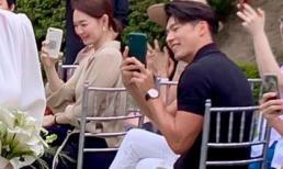 'Tình cũ Song Hye Kyo' xuất hiện hiếm hoi tại đám cưới stylist, thân hình cuồn cuộn cơ bắp khiến ai cũng ngỡ ngàng
