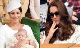 Lần đầu hé lộ chuyện Công nương Kate đến lễ rửa tội của con trai Meghan trong làn nước mắt vì điều này
