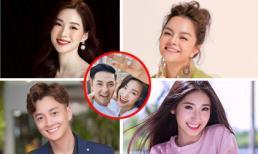 Showbiz ngập tràn ảnh Đông Nhi được cầu hôn: HH Thu Thảo nổi hết da gà, Phạm Quỳnh Anh vui vì không cần giữ bí mật