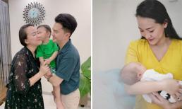 Bà xã ca sĩ Nam Cường sinh con thứ hai