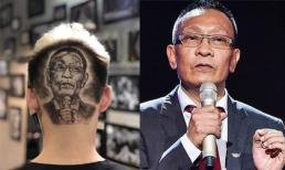 Fans khắc hình Lại Văn Sâm sau đầu, con trai nam MC cũng muốn đổi kiểu tóc