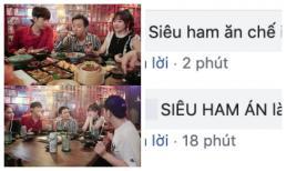 Đăng ảnh ăn bất chấp khi khách mời đang nói chuyện, Hari Won tiếp tục bị fan 'dập' tơi bời vì lại sai chính tả