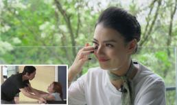 Hồng Quế khóc rưng rức nhớ lại quá khứ khi xem cảnh Thư sinh non trong phim 'Về nhà đi con'
