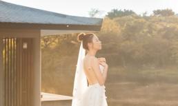 Đàm Thu Trang chính thức gia nhập hội cô dâu sexy của showbiz khi khoe lưng trần gợi cảm mướt mắt