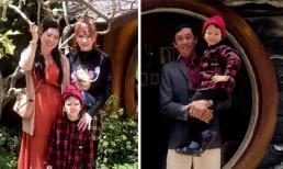 Ca sĩ Thu Thủy đưa con trai riêng đi chơi cùng bố mẹ chồng mới