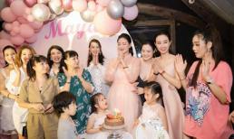 Ca sĩ Maya tổ chức sinh nhật ấm cúng tại Hà Nội
