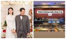 Sau gần 1 năm kết hôn, Á hậu Thanh Tú khoe điều lãng mạn ông xã đại gia làm cho mình