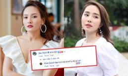 Là tình địch không đội trời chung trên phim, quan hệ thật ngoài đời của Bảo Thanh và Quỳnh Nga được tiết lộ chỉ qua một bình luận