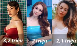 Ngoài Chi Pu, Hương Giang thì đây là những sao nữ có lượng theo dõi khủng nhất trên Instagram Việt