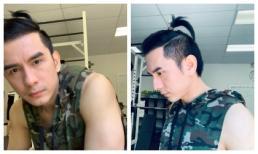 Đổi sang kiểu 'tóc em đuôi gà', Đan Trường tiết lộ giá cá cược là một chiếc túi LV