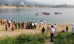 5 người rủ nhau ra sông Đà tắm, 4 thanh niên bị nước xoáy cuốn tử vong