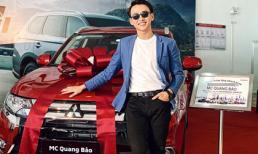 MC Quang Bảo lần đầu tiên tậu được xế hộp sau nhiều năm 'cày cuốc'