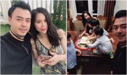 Khoe được tổ chức sinh nhật sớm nhưng nhan sắc bà xã MC Tuấn Tú mới chiếm trọn spotlight
