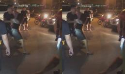 Gái xinh bị kích động đòi lao đầu vào ô tô gây náo loạn bến xe Yên Nghĩa