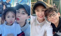 Hà Kiều Anh tự nể bản thân khi 40 tuổi vẫn tham gia các trò chơi mạo hiểm cùng con