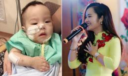 Minh Hiền tiết lộ bệnh tình hiện tại của con và số tiền mạnh thường quân ủng hộ