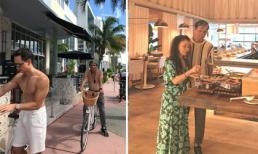 Kim Lý và bố vợ tương lai cùng khoe body, nhưng bình luận của mẹ nữ ca sĩ mới sốc