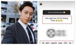 Giữa tin đồn hẹn hò, Rocker Nguyễn lên tiếng khẳng định mối quan hệ với Hoàng Thùy