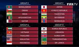 Lịch thi đấu đầy đủ ĐT Việt Nam ở vòng loại World Cup 2022