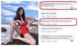Khoe ảnh diện bikini nóng bỏng, Trương Quỳnh Anh bị chỉ trích vì dáng ngồi kém duyên