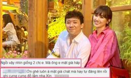 Trấn Thành đăng ảnh đi du lịch cùng Hari Won nhân kỷ niệm 3 năm cầu hôn, bị fan cứng chê 'già chát'