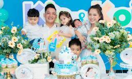Hải Băng - Thành Đạt tổ chức tiệc linh đình cho hai cậu quý tử