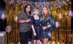 Nữ danh ca Thanh Hà cùng bạn trai hát hết mình tặng sinh nhật học trò cưng