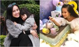 Con gái 8 tuổi cực xinh xắn và đáng yêu của BTV Hoài Anh