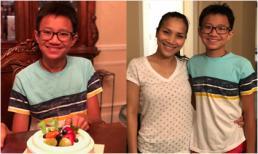 Tròn 13 tuổi, con trai đầu của Hồng Ngọc đã cao hơn mẹ gần một cái đầu