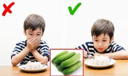 Tác dụng tuyệt vời khi ăn 1 quả dưa chuột mỗi ngày